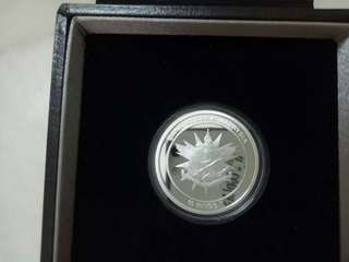 Malaysia ATM $10 Silver Proof with cert