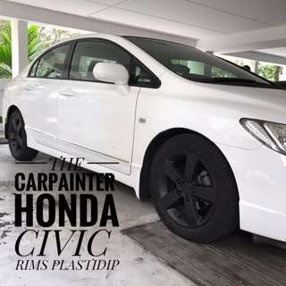 Honda Civic Plastidip Service Plasti Dip