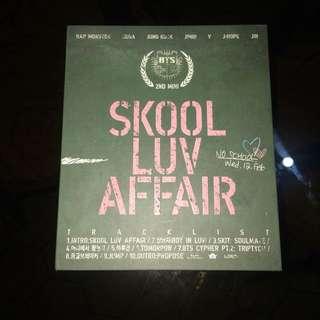 BTS Skool Luv Affair Album (Unsealed)