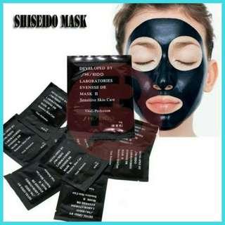 Masker Shiseido Black