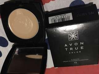 Avon True Color Cream to Powder Foundation