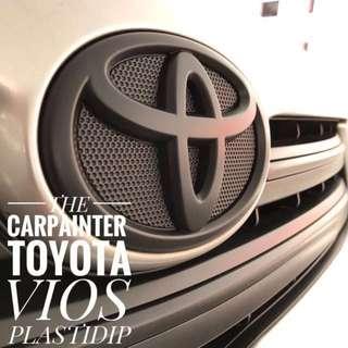 Toyota Vios Plastidip Service Plasti Dip