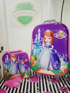3IN1 TROLLEY BAG Sofia the first