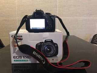Canon 650D + 18-135鏡頭