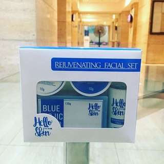 Hello Skin BLUE Rejuvenating Facial Set