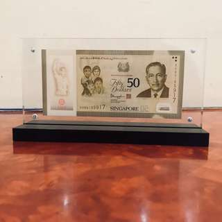 SG50 Commemorative with stand