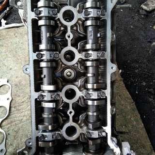 Cylinder head Toyota vios 1.5L