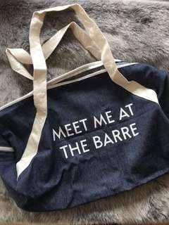 Brand new gym bag