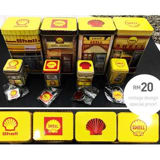 Shell Malaysia 125th Anniversary - Limited Edition Heritage Canisters