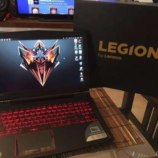 Gaming laptop Lenovo Legion Y520 GTX 1050 Ti 4gb