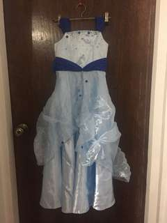 Blue Kids Gown
