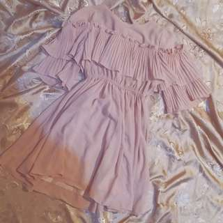 PINK KOREAN DRESS