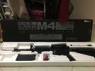M4A1 Gas Blowback GBB Rifle (System7 Two) by KSC Taiwan