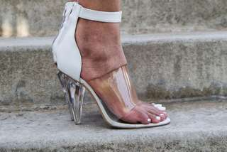 Jeffrey Campbell Clear Heels