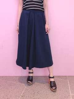 藍色闊褲 (Y18)