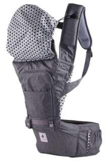 NO.5-Waterproof outdoor hipseat carrier ~ Color: Grey