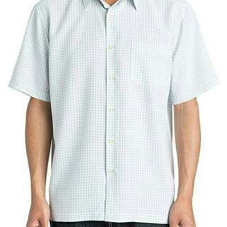Kemeja quiksilver waterman collections o bouy woven original