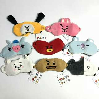 [ PO ] BT21 EYE MASKS