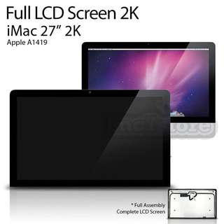 "iMac 27"" LCD 2k screen"