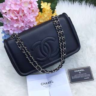 ❌SOLD!❌ Chanel Timeless CC Flap in Black Caviar SHW