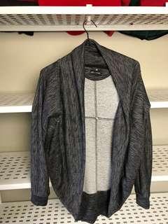 Gray cardigan size small