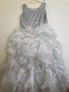 Little bride gown