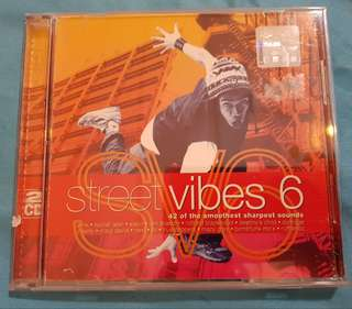 CD.Various- Street Vibes 6. 2-Disc.UK Import