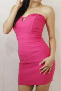 Pink Tube Sexy Fit Dress