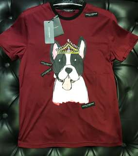 🆕 Authentic D&G Dog Theme Tee, New Arrivals!!