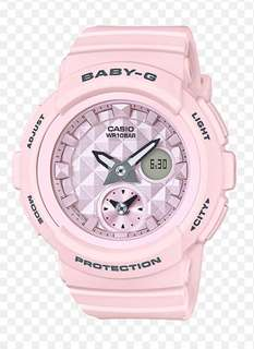 Casio Baby G light pink Colour