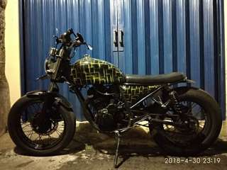 Motor custom Scorpio 2009