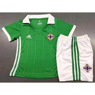 2018 Northern Ireland Kids jersey