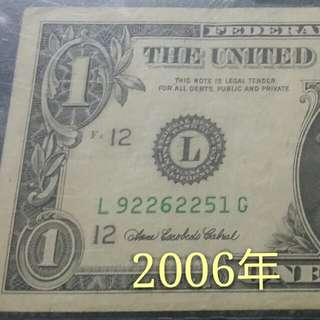 市價$……美金鈔票系列