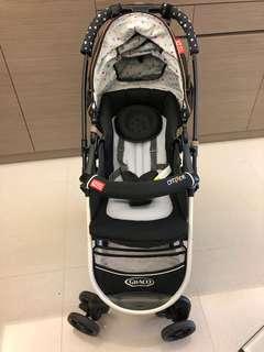 GRACO Citiace CTS雙向推車小珍珠+雨罩