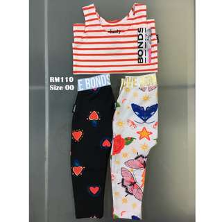 Bonds Chesty & Legging Set Size 00