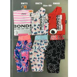 Bonds Chesty & Legging Set Size 00