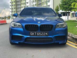 BMW 523 for rent f10