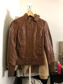 (Brand New) Mackage x Aritzia Leather Elie Jacket