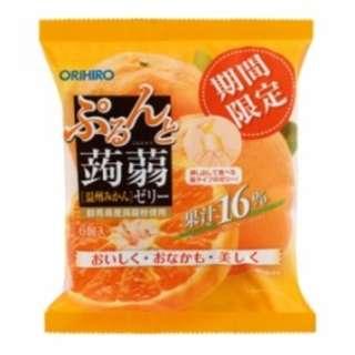 日本製Orihiro 吸式不沾手果凍期間限定 蜜柑 120g