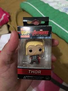 Thor Funko Pop keychain