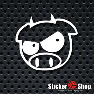 Subaru Devil Pig Decal