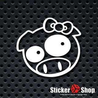 Subaru Miss Piggy Decal