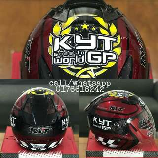 Helmet KYT dj Maru