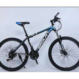 "SOLD OUT!  .....Brand New 26"" Bicycles ☆ CROLAN & Dkaln Mountain Bikes"