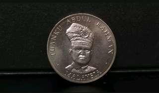 Syiling Peringatan $1 Malaysia (Unc/Bu)