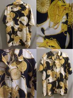VERSACE PATTERN SHORT SLEEVE