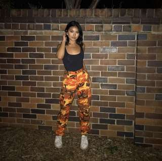 CULTURE KINGS CAMO PANTS