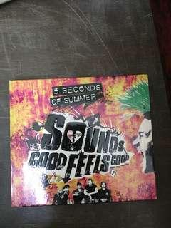 5SOS sounds good feels good cd album deluxe