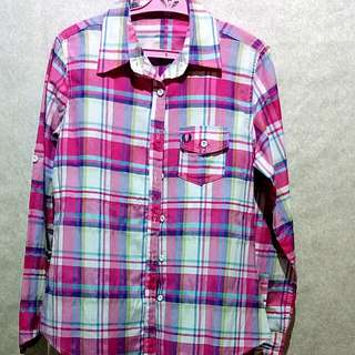 Polo Checkered Pink