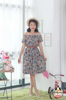🍿 Vintage Midi Dress VD1272
